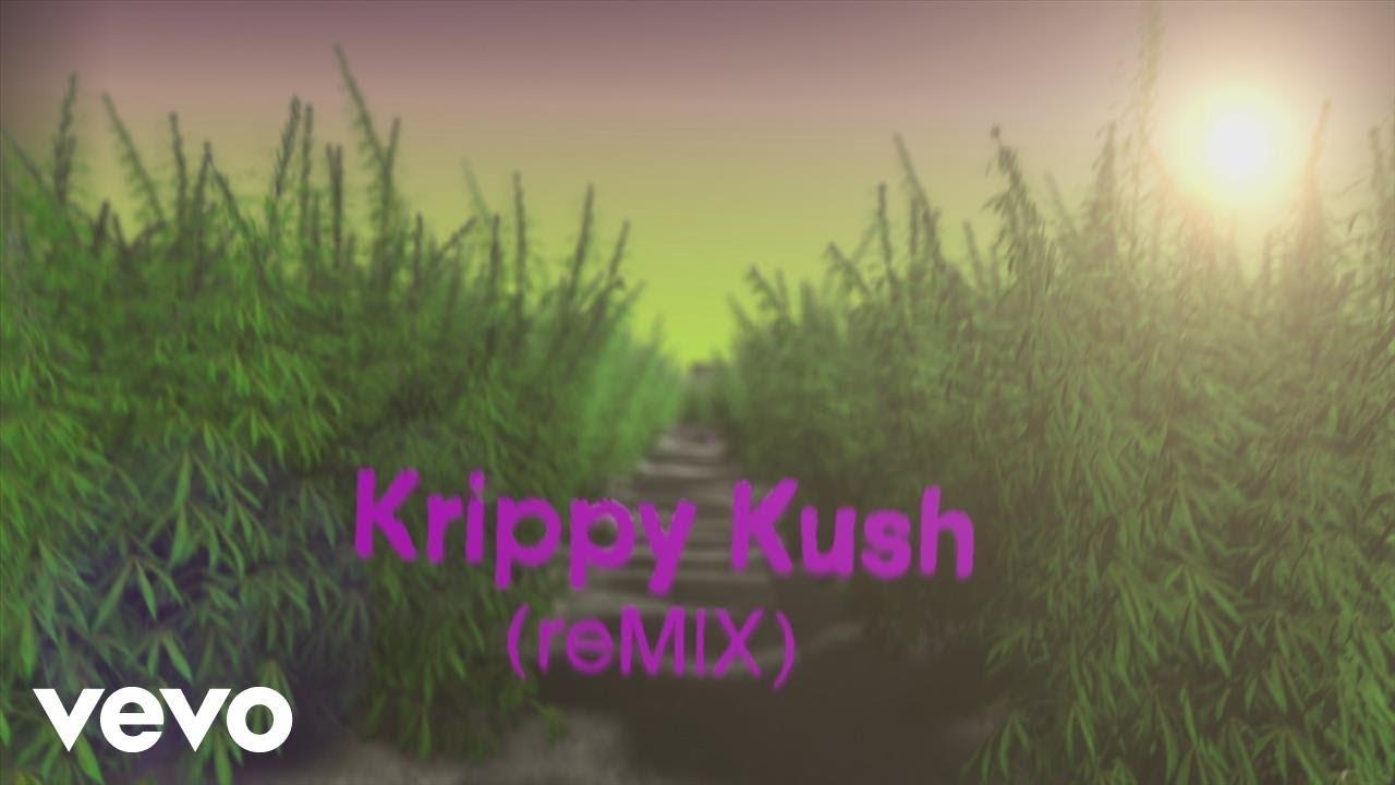 Farruko, Nicki Minaj, Bad Bunny — Krippy Kush (Remix)[Lyric Video] ft. 21 Savage, Rvssian
