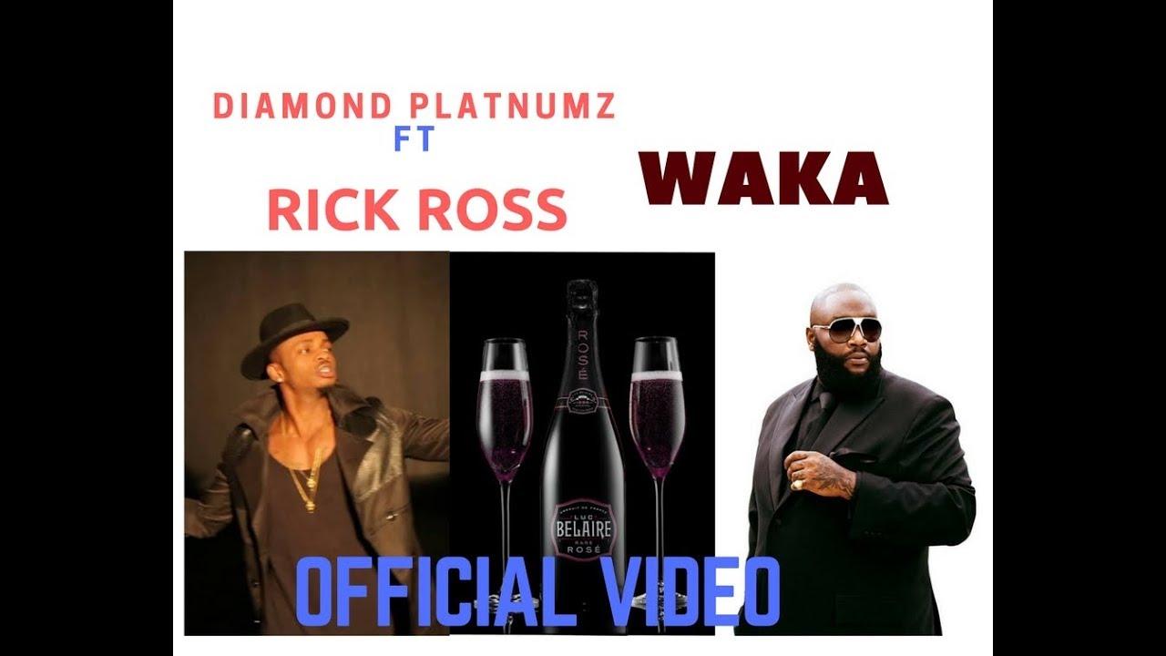 Diamond Platnumz Ft Rick Ross — Waka Waka (official video)