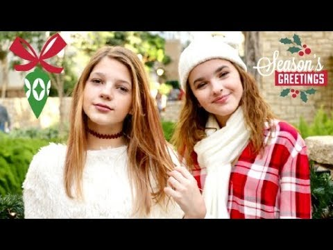 Official Christmas Medley Video Ft. Annie Rose + Jenna Raine