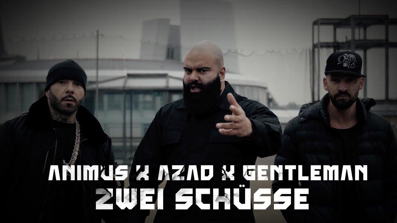 ANIMUS feat. AZAD & GENTLEMAN — ZWEI SCHÜSSE (OFFICIAL VIDEO) PROD. BY GOREX