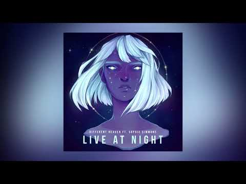 Different Heaven — Live At Night feat. Sophie Simmons (Cover Art) [Ultra Music]