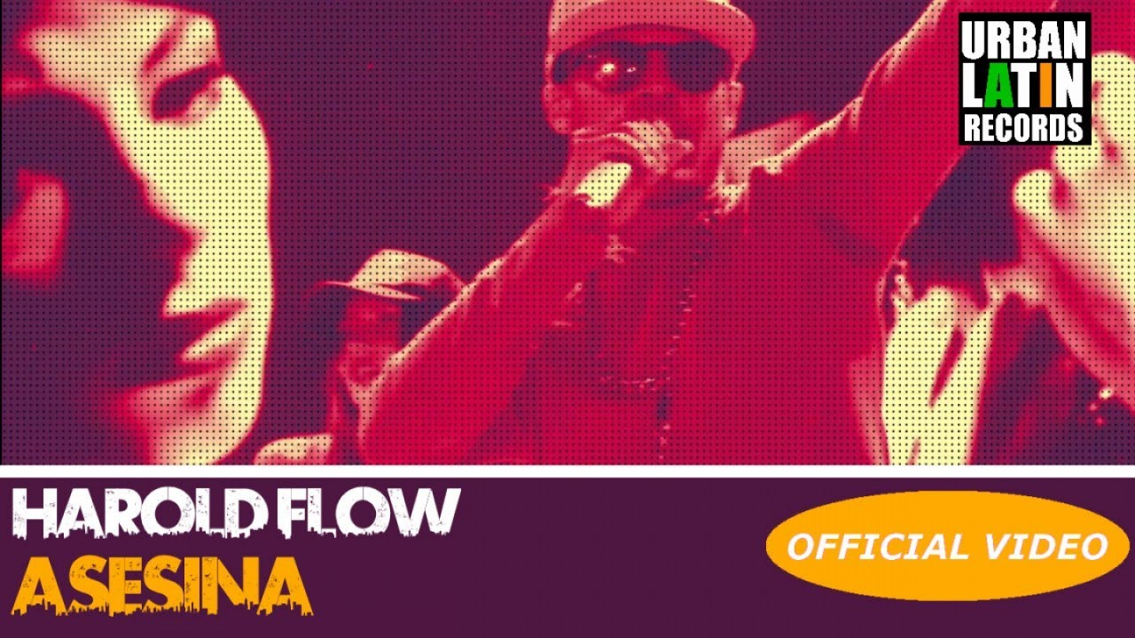 HAROLD FLOW — ASESINA — (OFFICIAL VIDEO) REGGAETON 2018 / CUBATON 2018