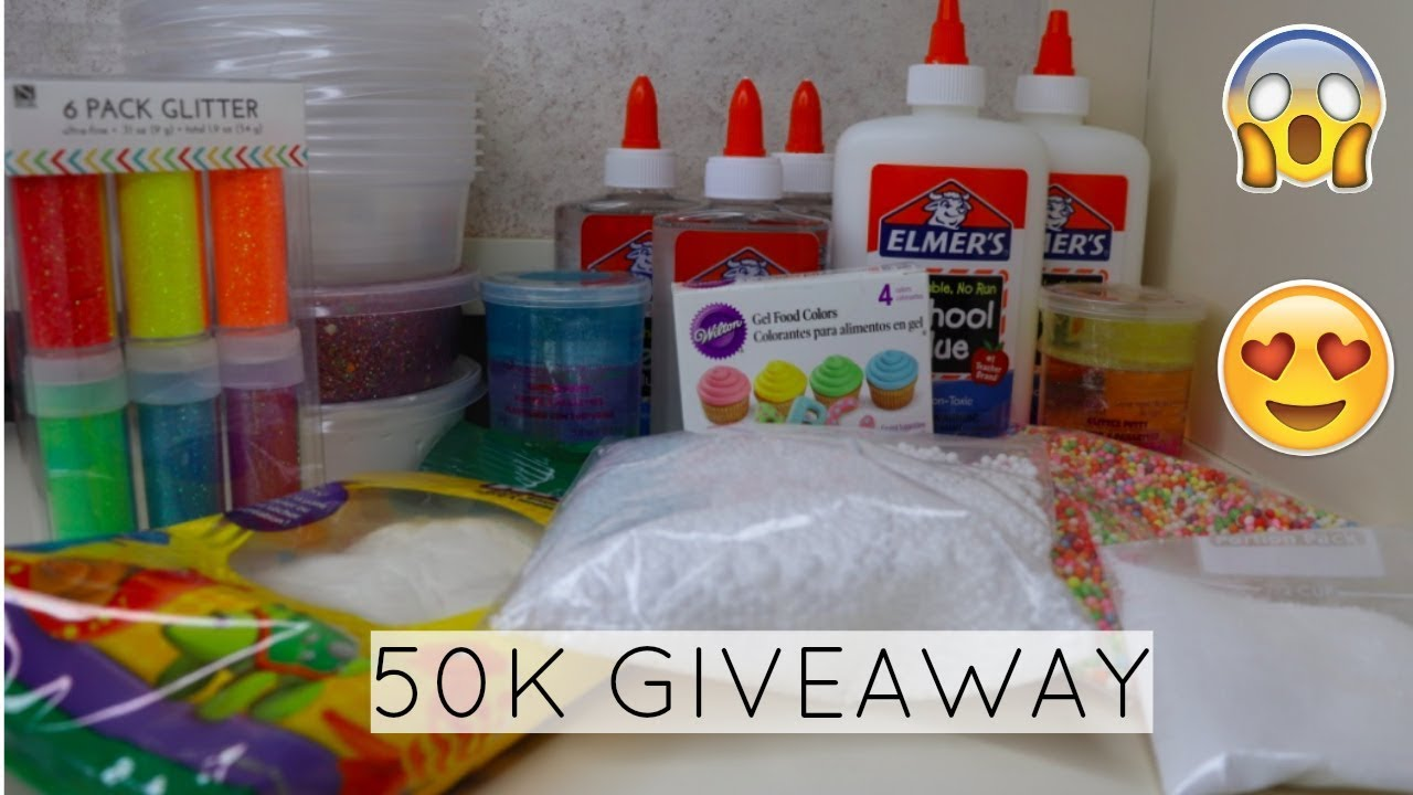 SLIME TYME 50K GIVEAWAY (OFFICIAL VIDEO)