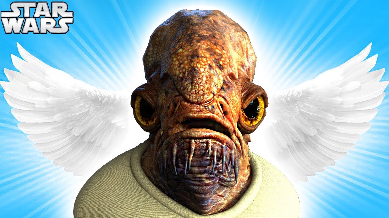 Official RESPECT Video for ADMIRAL ACKBAR (RIP) — Star Wars Funeral