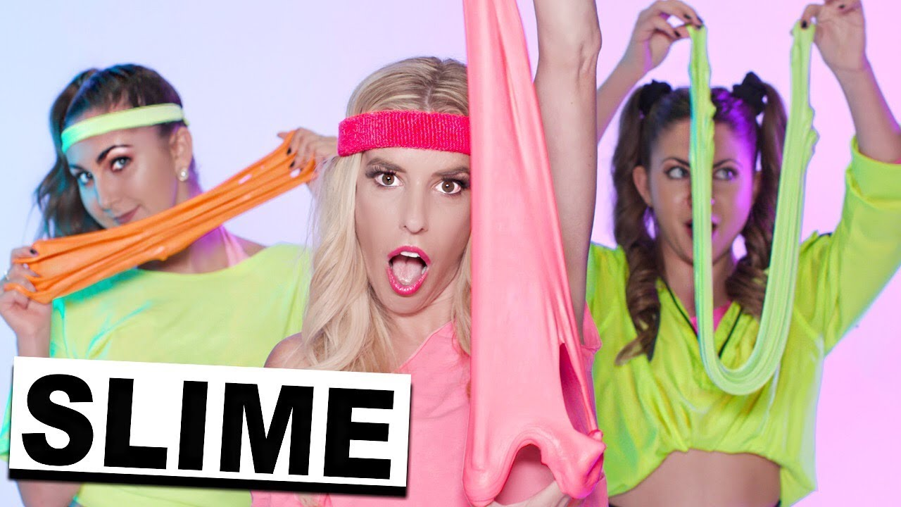 SLIME WORKOUT! (Official Music Video)   Rebecca Zamolo