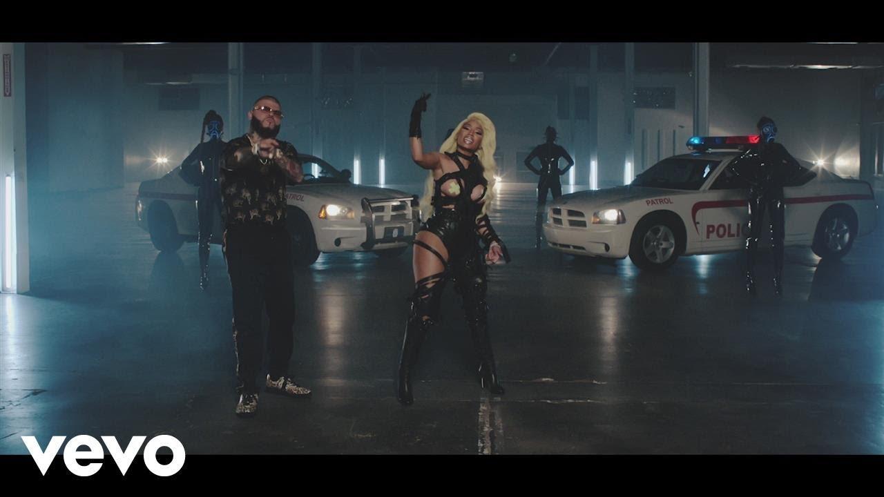 Farruko, Nicki Minaj, Bad Bunny — Krippy Kush (Remix) ft. Travis Scott, Rvssian