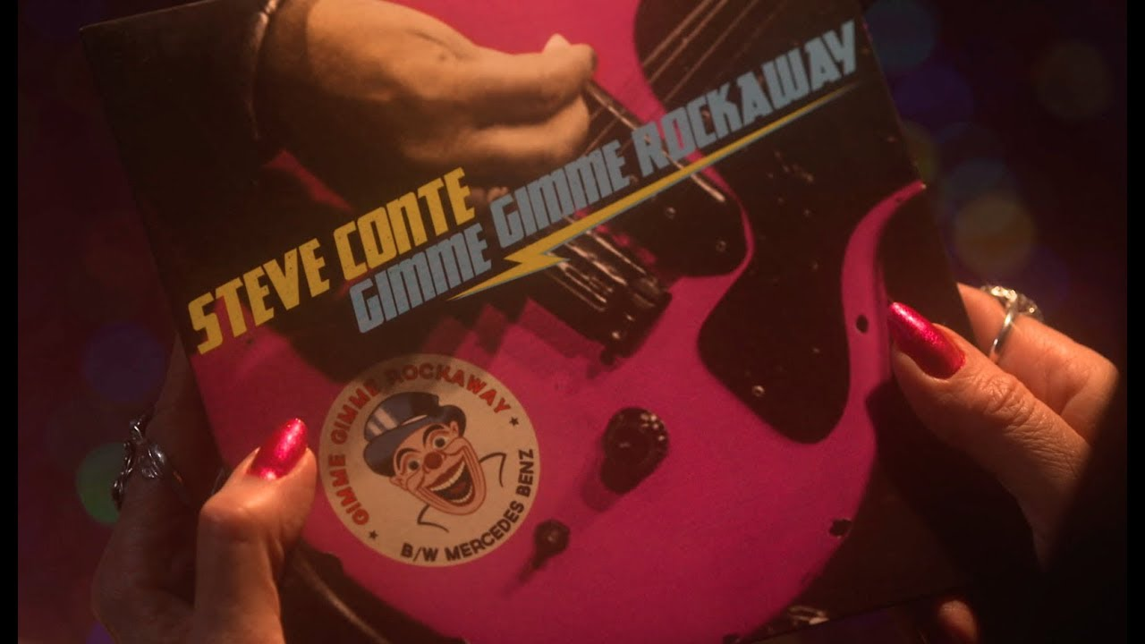 STEVE CONTE — GIMME GIMME ROCKAWAY (Official Video)