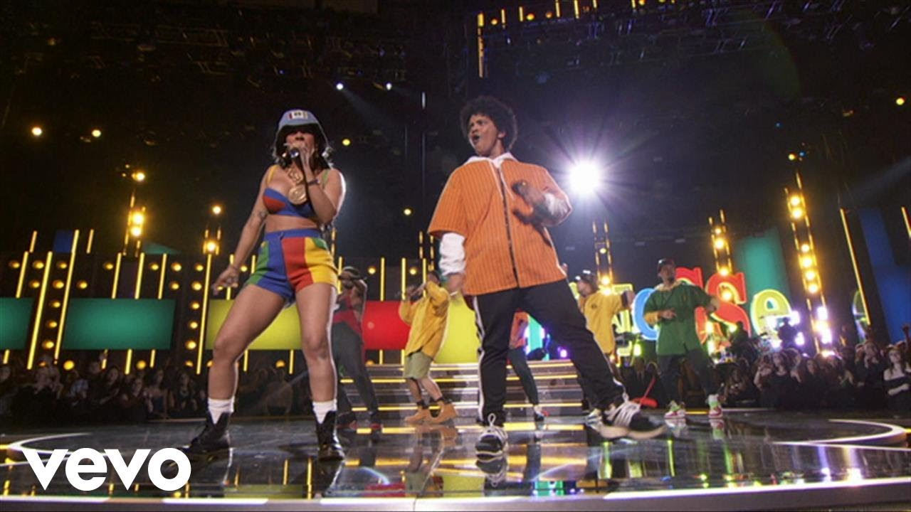 Bruno Mars and Cardi B — Finesse (LIVE From The 60th GRAMMYs ®)