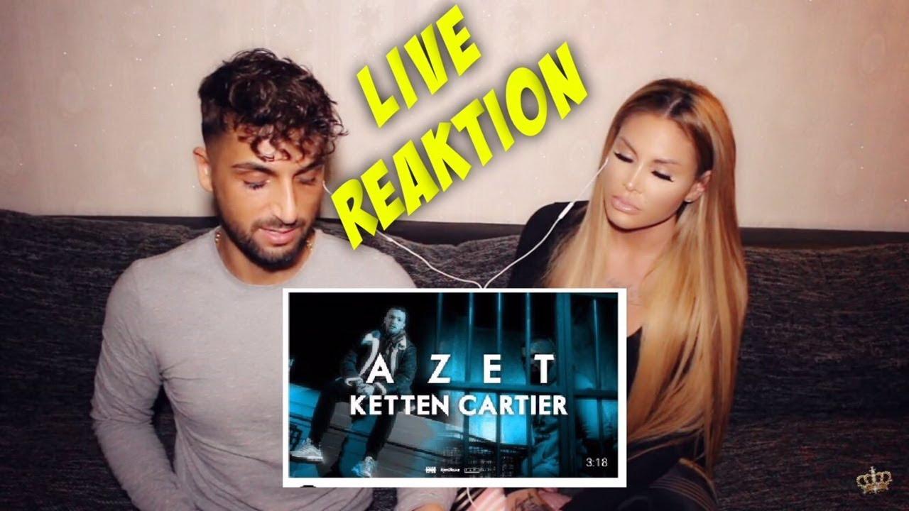 AZET — Ketten Cartier ( official Video ) Reaktion | Lisha&Lou