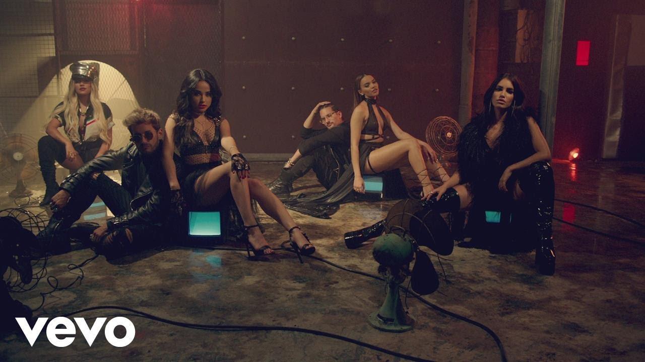Mau y Ricky, Karol G — Mi Mala (Remix — Official Video) ft. Becky G, Leslie Grace, Lali