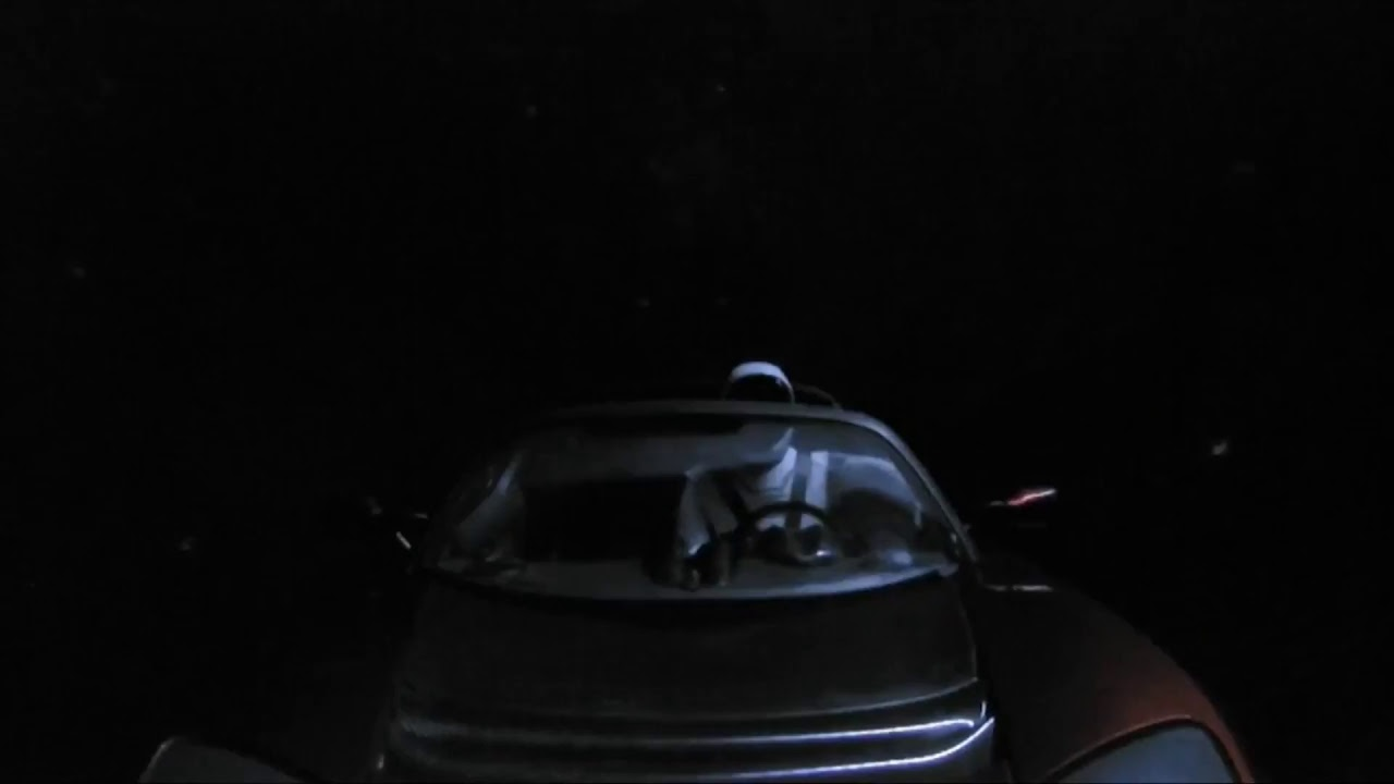 WATCH LIVE: «Starman» — Join SpaceX Live Views From Space #Tesla | CAR IN SPACE