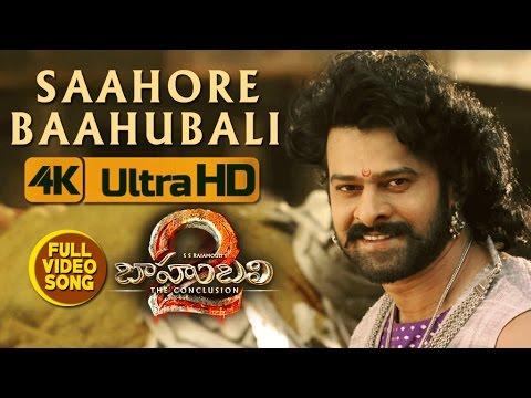 Saahore Baahubali Full Video Song — Baahubali 2 Video Songs   Prabhas, Ramya Krishna
